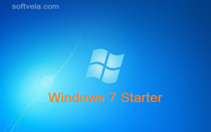 Microsoft Windows 7 Starter Edition ISO Free Download (32 Bit/ 64 Bit)