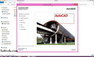 basic look of autocad 2008 full zip