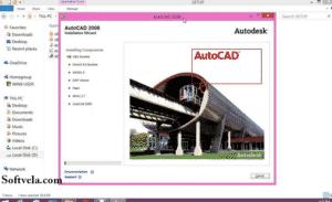 basic look of autocad 2008 full zip