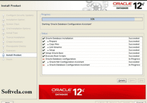 install process of oracle 12c