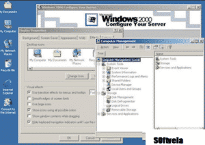 windows 2000 free desktop mode