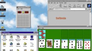 windows 95 basic look
