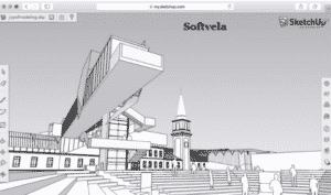 sketchup portable main screen