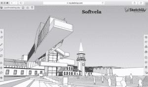 sketchup portable main screen