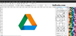drawing the google drive logo