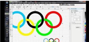 drawing the olympics design