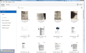 documents list view