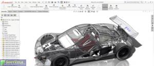 make awesome design of car