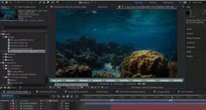 editing the recorded scene