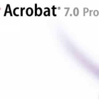 Adobe Acrobat Writer 7