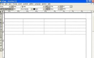 Main dashboard of Inpage 2013