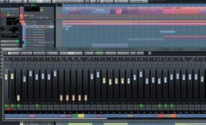 Screenshot of main dashboard